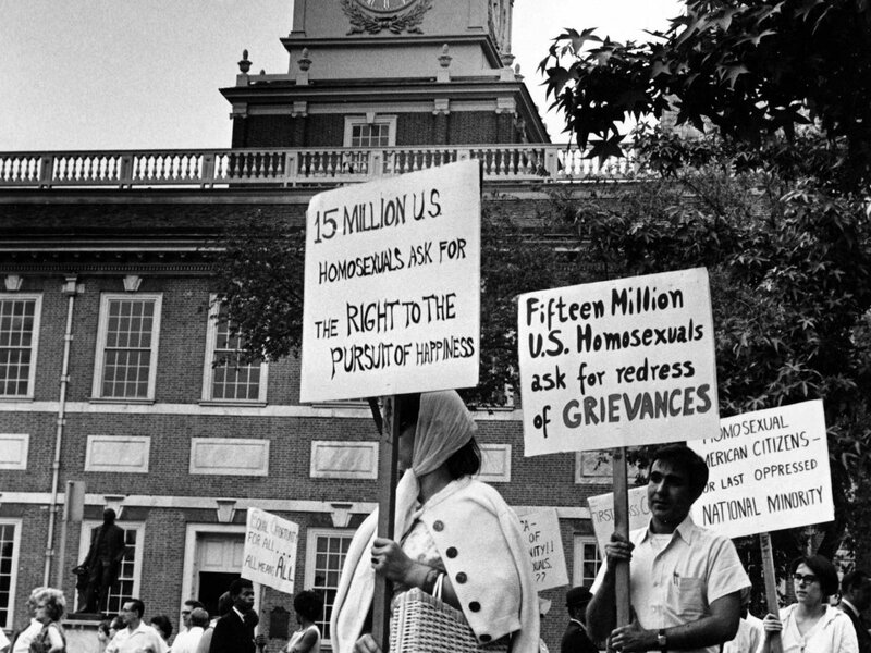 Independence Hall Protests 1