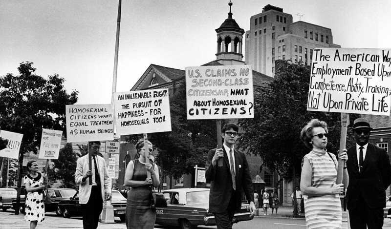 Independence Hall Protests 4 (1967) AP