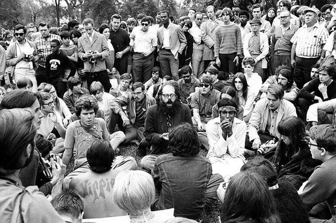 Allen Ginsberg Democratic National Convention